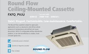 mitsubishi ductless ceiling mount ny nj daikin hvac contractor ductless ac heat pump vrv