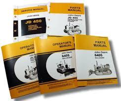 lot john deere 450 crawler dozer tractor service operators owners