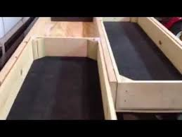Slide Out Truck Bed Tool Boxes Truck Bed Drawer Part 1 Youtube