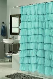 Turquoise Shower Curtain Bathroom Shower Curtains Crate And Barrel Turquoise Shower