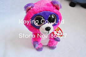 aliexpress buy rare cute ty beanie boos pink red raccoon