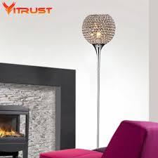 beautiful crystal floor lamps bedroom table floor lights bright v
