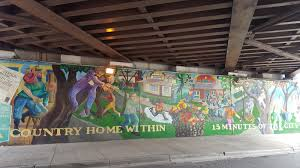 the chicago real estate local an old irving park mural beckons an old irving park mural beckons