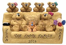 anniversary gift for parents parents anniversary gift bunch of free named teddy bears
