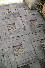 Concrete Ideas For Backyard Best 25 Concrete Pavers Ideas On Pinterest Outdoor Pavers