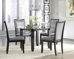 dining room sets with fabric chairs on hayneedle kitchen grey upholstered chairs decofurnish grey gray