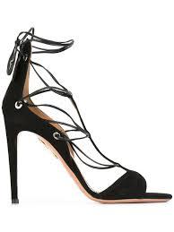 aquazzura wild thing slides aquazzura cayenne sandals black women