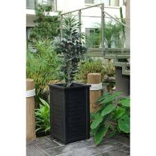 Home Depot Plastic Planters by Uv Resistant Plastic Planters Pots U0026 Planters The Home Depot