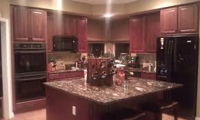 Kitchen Cabinet Cherry Kitchen Kitchen Base Cabinets Dark Cherry Kitchen Cabinets