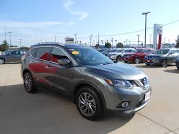 black nissan rogue 2015 used cars 2015 nissan rogue sl galesburg nissan galesburg il