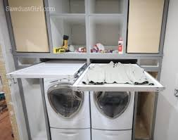 Shelf Ideas For Laundry Room - remodelaholic 25 ideas for small laundry spaces