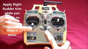 Radio Transmitter Repair Ma Transmitter Calibration For Wltoys V977 Power Star X1 U0026 V931 A350