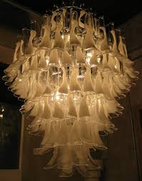 feather chandelier muralight fabulous lighting