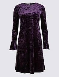 midi dress plus size pleated long sleeve midi dress m u0026s