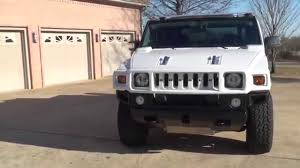 hd video 2007 hummer h2 sut white for sale nav tv see www