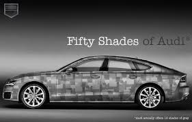 fifty shades of grey and audi a tantalizing combination