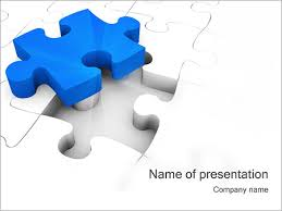 jigsaw puzzle powerpoint template u0026 backgrounds id 0000000833