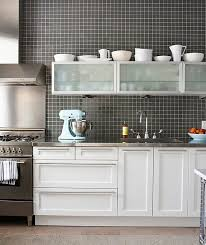 white kitchen cabinets with stainless steel backsplash 15 kitchens with stainless steel countertops