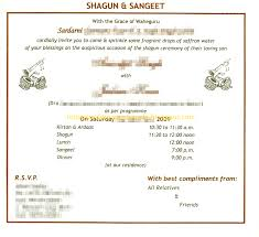 Wording For A Wedding Card Indian Wedding Card Wordings In Text Format