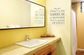 Powder Room Quotes Vinyl Wall Decor For Bathroom