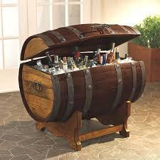 silver barrel side table barrel side table black metal wine stave shaped uk emsg info