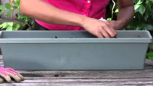 how to build a window flower box how to grow parsley in a window box the chef u0027s garden youtube