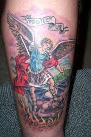 16 best st michael the archangel tattoo designs images on