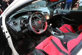 Honda Civic India Interior Honda Civic Type R Makes 305 Hp From Turbo Vtec Four Cylinder