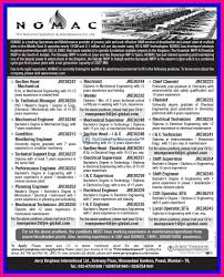 nomac large vacancies in middle east jerry varghese gulf jobs