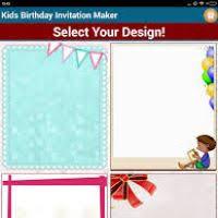 invitations maker birthday invitations maker justsingit