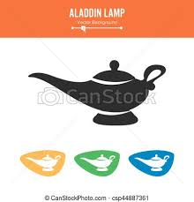 clip art vector aladdin lamp vector simple black silhouette