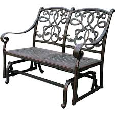 furniture interesting porch glider for inspiring outdoor