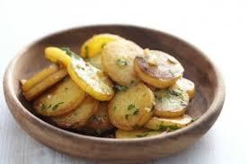 pomme de terre en chambre pommes de terre sarladaises aux chignons des bois cèpes ou
