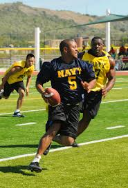 Flag Football League Bay Area File Us Navy 101211 M 5775w 632 Ngineman 2nd Class Johnny Abner