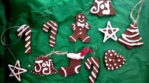 Homemade Christmas Ornaments Dough Cinnamon Diy Cinnamon U0026 Applesauce Ornaments Youtube