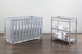 Modern Changing Table Imagio Modern Crib Changing Table Gray Kid S Stuff Superstore