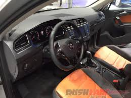 volkswagen tiguan interior new vw tiguan suv india launch price inr 27 68 lakh