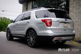 Ford Explorer Rims - ford explorer with 22in lexani gravity wheels exclusively from