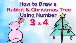 how to create a fun drawings using numbers kids drawing videos