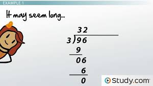 performing long division with large numbers steps and examples