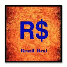 brazil money currency decorative home decor wall art souvenir gift