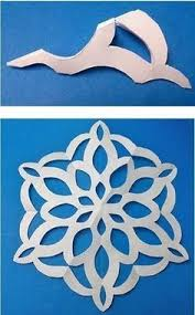 the 25 best paper snowflake template ideas on pinterest paper