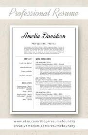 Boyfriend Resume Template Modern Resume Template For Ms Word Doforothers Doforyourself