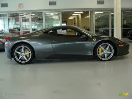 Ferrari 458 Green - grigio silverstone dark grey metallic 2010 ferrari 458 italia