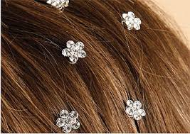 hair crystals twist ins hair pins bridal hair crystals prom hair