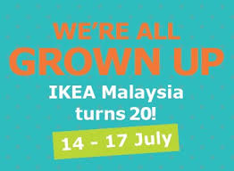 Ikea Birthday Ikea Malaysia Celebrates 20th Birthday With 4 Day Party For You