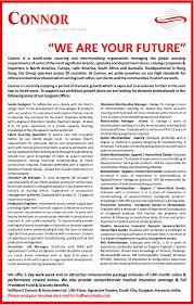 jobs in william e connor u0026 associates ltd vacancies in william e