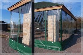 Outdoor Winter Curtains Outdoor Winter Curtains Clear Vinyl Plastic Enclosures For Wind