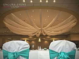 Celing Drapes Andiamo U0027s Warren Wedding Ceiling Draping Encore Event Group