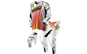 rockstar motocross helmets product highlight one industries defcon rockstar gear motosport
